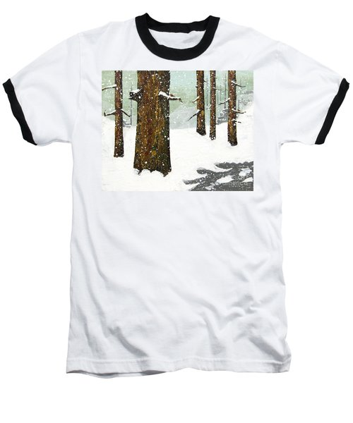 Wintering Pines Baseball T-Shirt