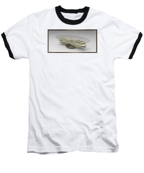 ' A Distorted Spring Table ' Baseball T-Shirt