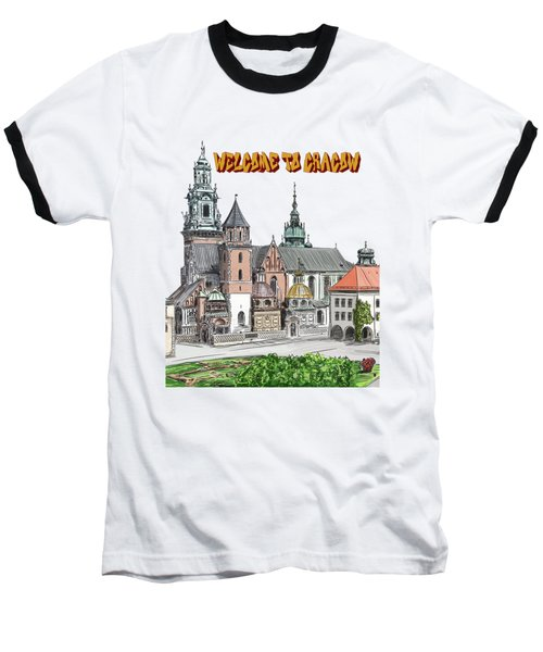 Cracow.world Youth Day In 2016. Baseball T-Shirt by Andrzej Szczerski