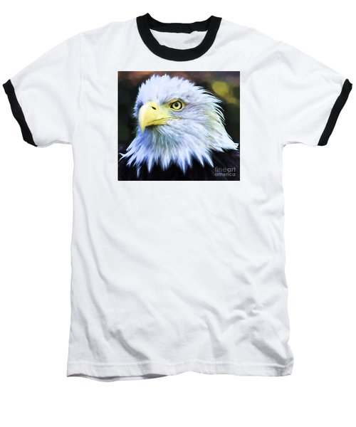 Eagle Eye Baseball T-Shirt by Suzanne Handel