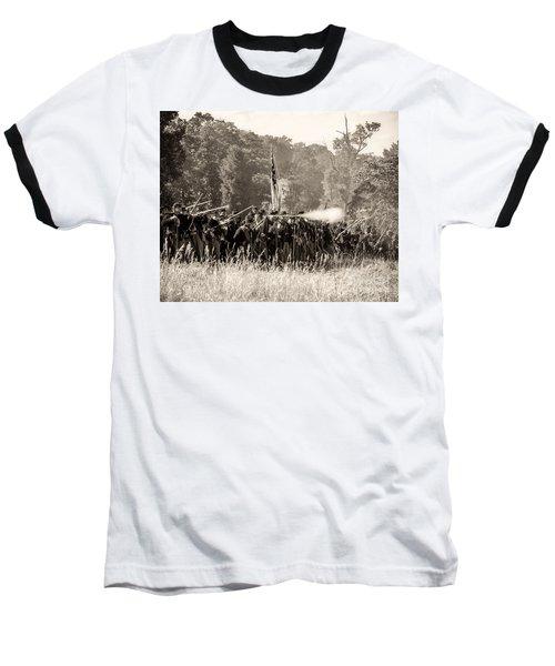 Gettysburg Union Infantry 9372s Baseball T-Shirt