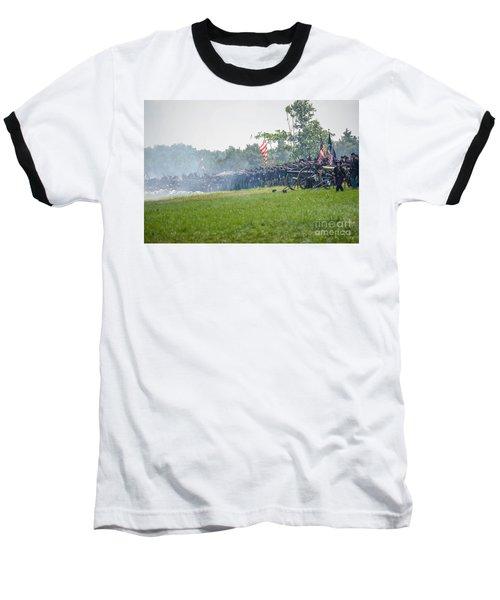Gettysburg Union Infantry 9968c Baseball T-Shirt