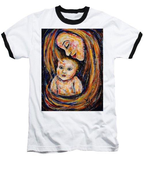 Mother's Love Baseball T-Shirt by Natalie Holland