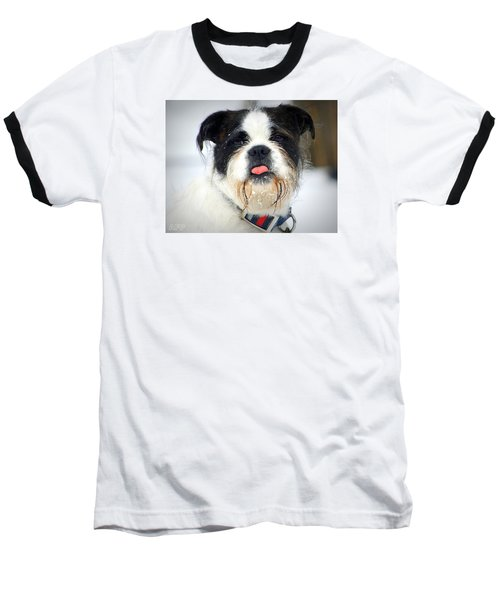 Baseball T-Shirt featuring the photograph  Pink by Al Fritz