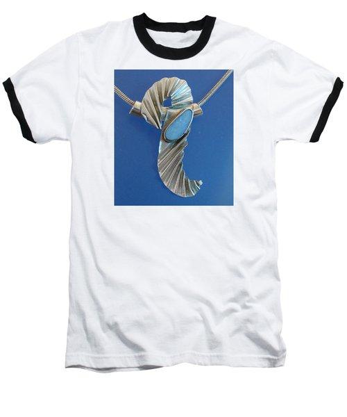0468 Seahorse Baseball T-Shirt