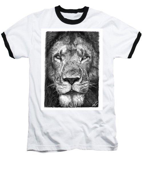 059 - Lorien The Lion Baseball T-Shirt