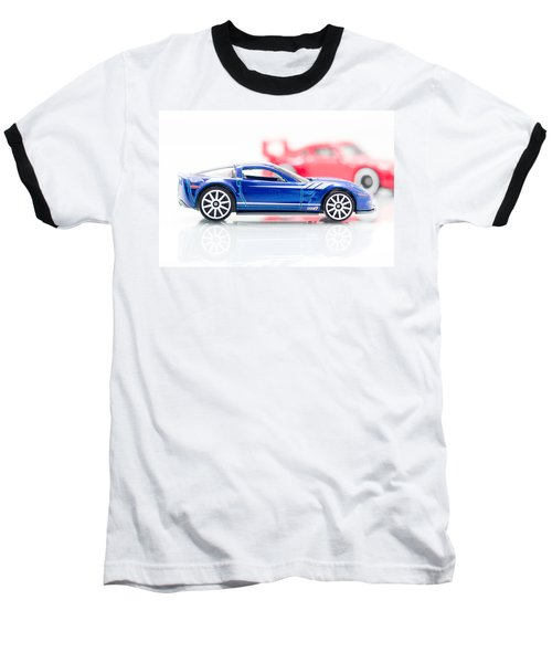 Baseball T-Shirt featuring the photograph 09 Zr1 by Wade Brooks