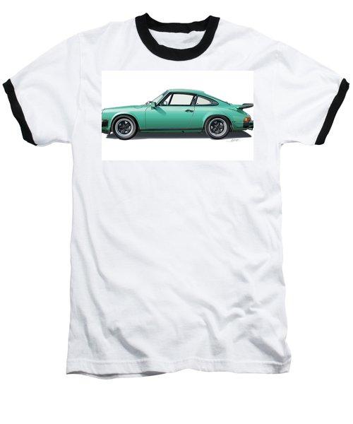 1976 Porsche Euro Carrera 2.7 Illustration Baseball T-Shirt
