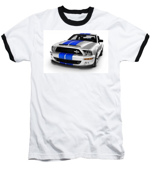 2008 Shelby Ford Gt500kr Baseball T-Shirt