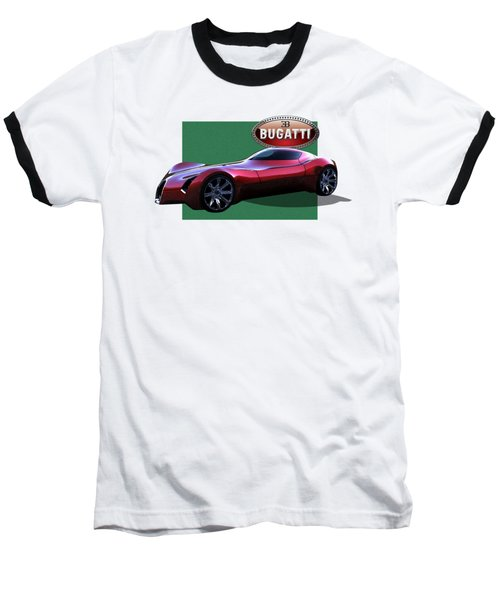 2025 Bugatti Aerolithe Concept With 3 D Badge  Baseball T-Shirt