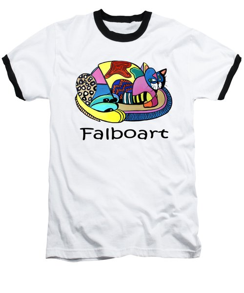 A Cat Named Picasso Baseball T-Shirt