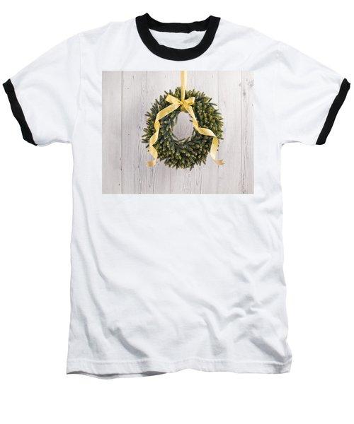 Baseball T-Shirt featuring the photograph Advents Wreath by Ulrich Schade