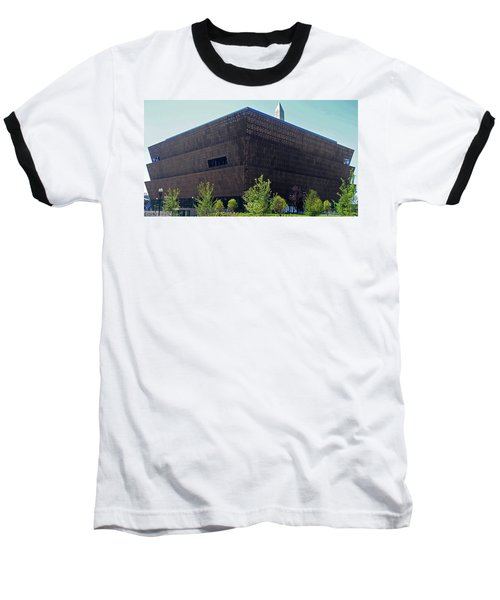 African American Museum 1 Baseball T-Shirt