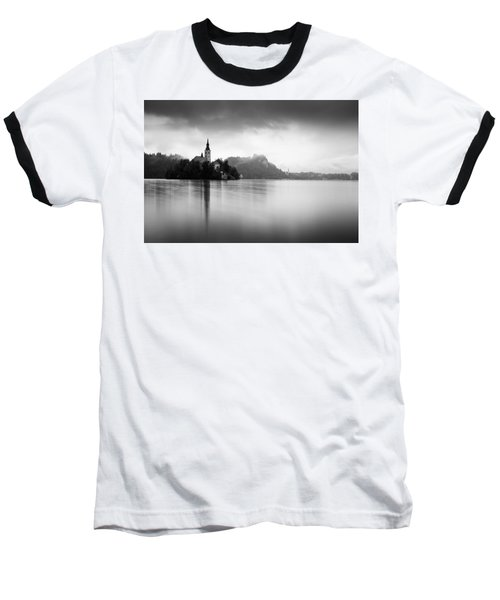After The Rain At Lake Bled Baseball T-Shirt