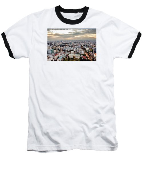 Afternoon On The City Baseball T-Shirt