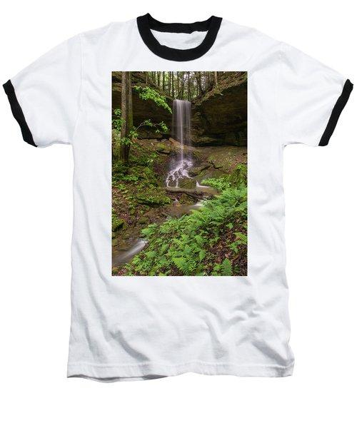 Alcorn Falls. Baseball T-Shirt by Ulrich Burkhalter
