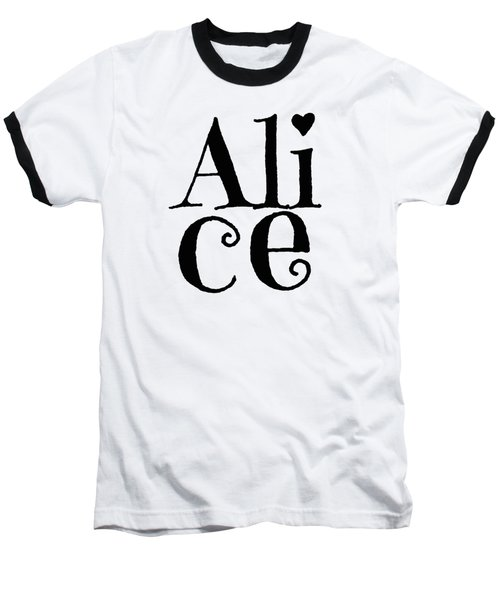 Alice Baseball T-Shirt