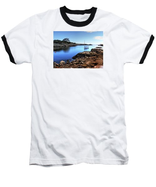Baseball T-Shirt featuring the photograph Almost Paradise Newport Ri by Tom Prendergast