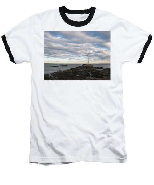 Anchor Beach Baseball T-Shirt