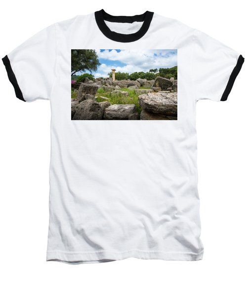 Ancient Olympia / Greece Baseball T-Shirt by Stavros Argyropoulos