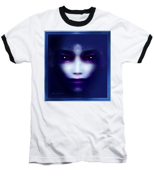 Angel  Blue Baseball T-Shirt