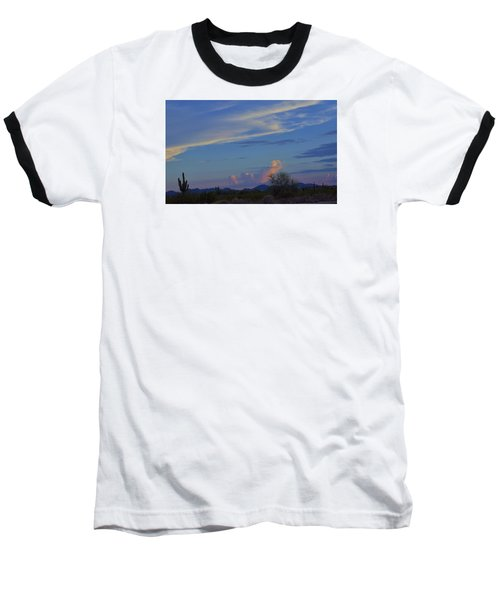 Baseball T-Shirt featuring the photograph Arizona Desert by Helen Haw