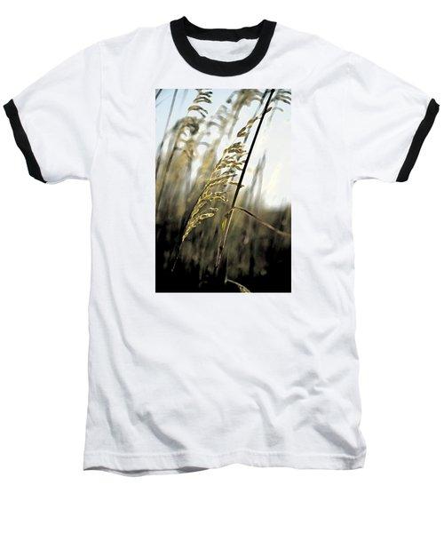 Baseball T-Shirt featuring the photograph Artistic Grass - Pla377 by G L Sarti