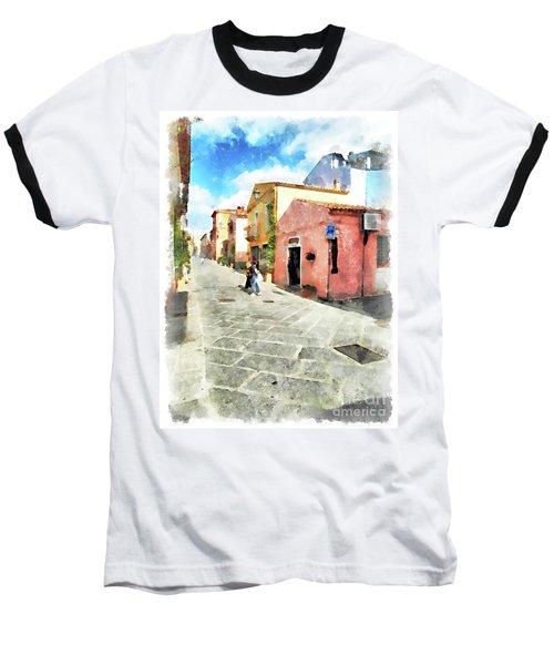 Arzachena Garibaldi Street Baseball T-Shirt