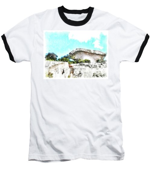 Arzachena Mushroom Rock Baseball T-Shirt