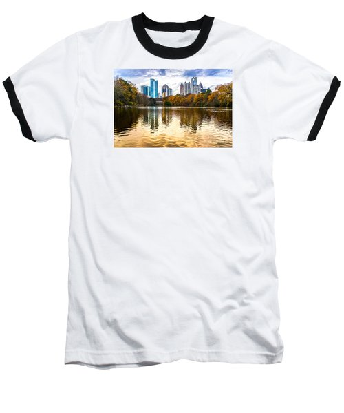 Atlanta - Usa Baseball T-Shirt