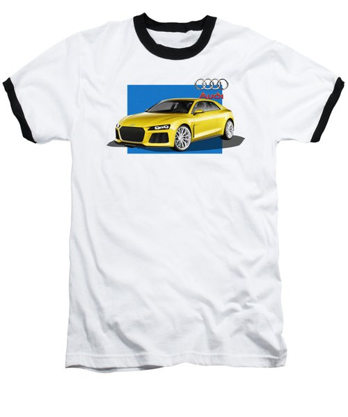Audi Sport Quattro Concept With 3 D Badge  Baseball T-Shirt