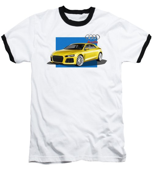 Audi Sport Quattro Concept With 3 D Badge  Baseball T-Shirt