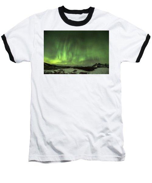 Aurora Borealis Or Northern Lights. Baseball T-Shirt