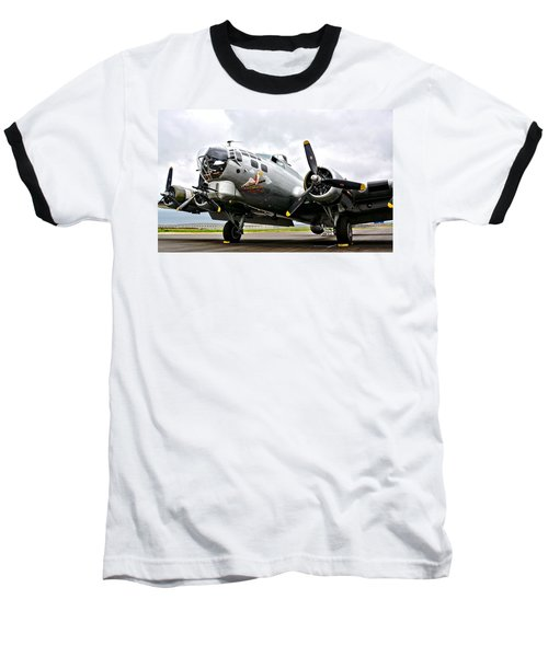 B-17 Bomber Airplane  Baseball T-Shirt