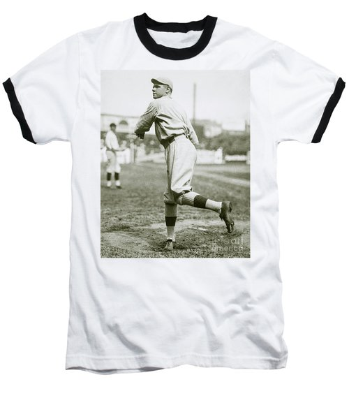 Babe Ruth Pitching Baseball T-Shirt