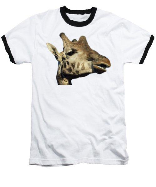 Baseball T-Shirt featuring the photograph Baringo Giraffe by George Atsametakis