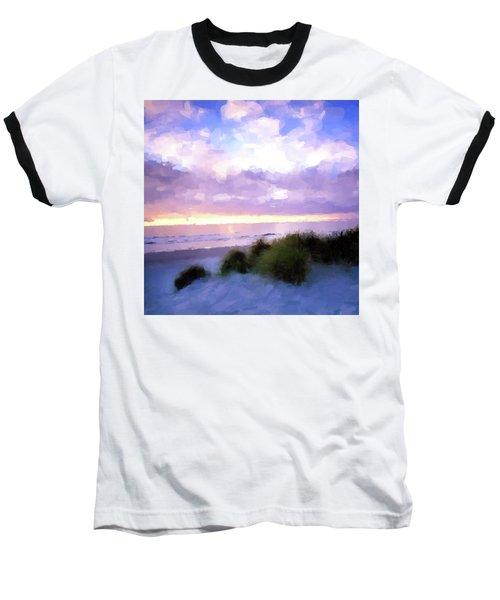 Beach Sawgrass Baseball T-Shirt
