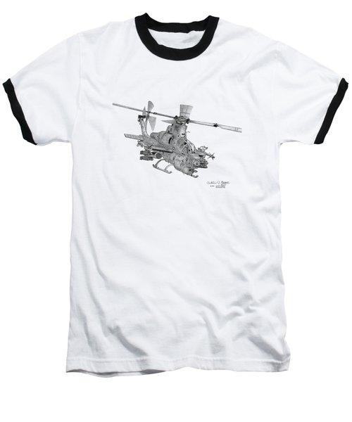 Bell Ah-1z Viper Baseball T-Shirt
