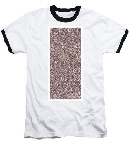 Bibi Khanum Ds Patterns No.6 Baseball T-Shirt