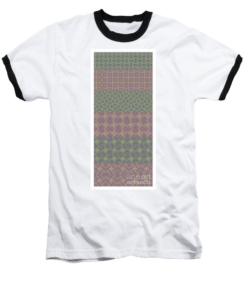 Bibi Khanum Ds Patterns No.9 Baseball T-Shirt