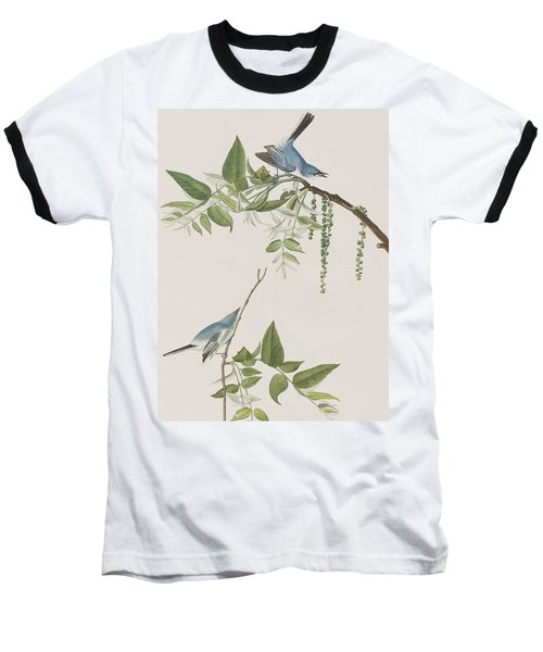 Blue Grey Flycatcher Baseball T-Shirt