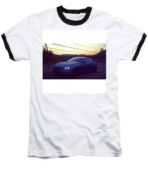 #bmw #m4 #sunset #desert #driveclub Baseball T-Shirt