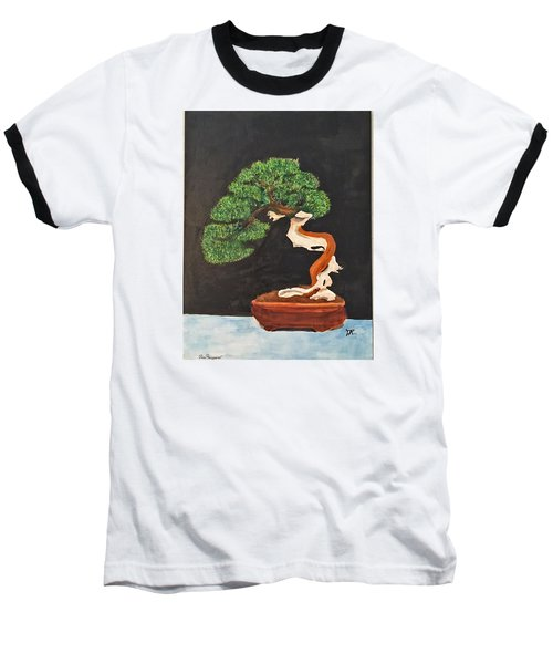 Bonsai-1 Baseball T-Shirt