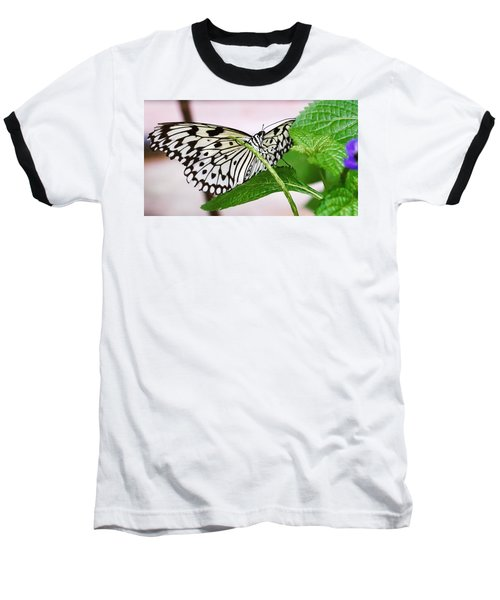 Paper Kite Butterfly No. 1 Baseball T-Shirt