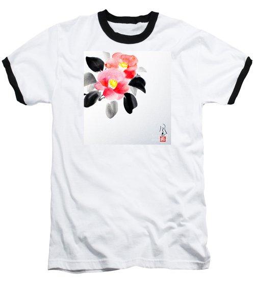 Camellia / Tsubaki Baseball T-Shirt