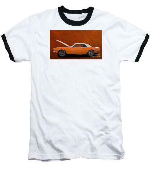 Camero Baseball T-Shirt by Jim  Hatch