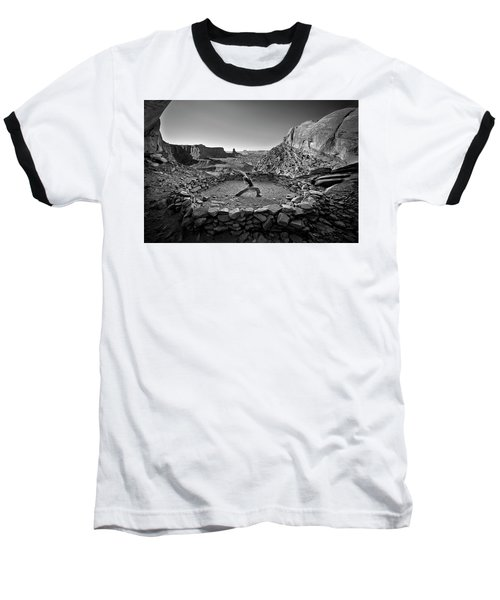 Canyonlands Kiva Baseball T-Shirt
