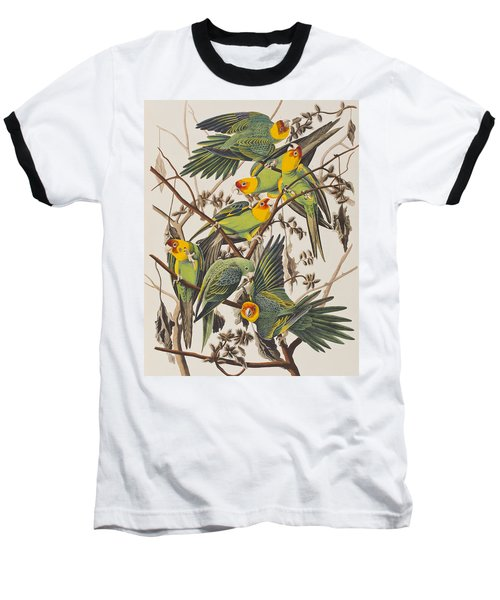 Carolina Parrot Baseball T-Shirt