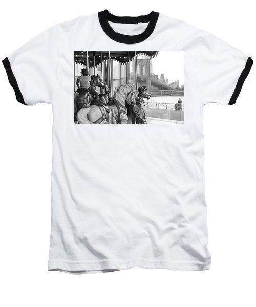 Carrousel Nyc Baseball T-Shirt