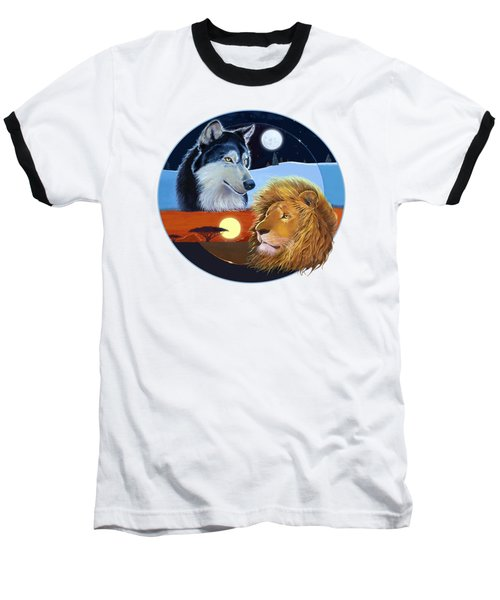 Celestial Kings Circular Baseball T-Shirt by J L Meadows